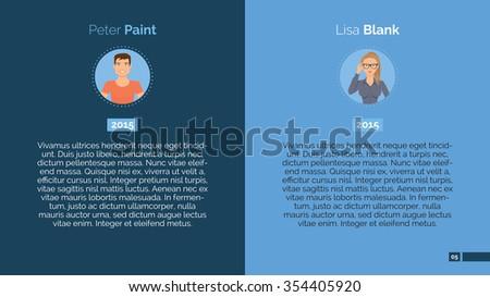 Editable Template Presentation Slide Representing Employees Stock ...