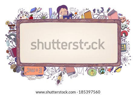 Education - stock vector