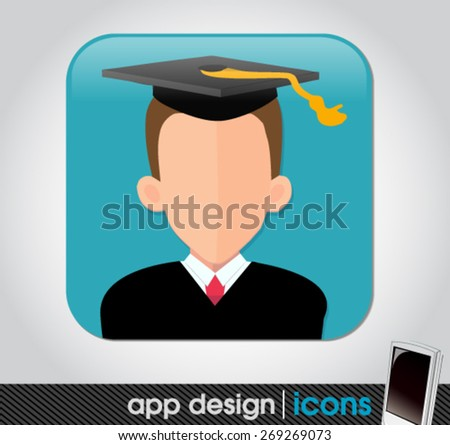 education app icon for mobile devices