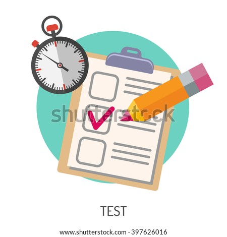 Education Flat Icon Set Flyer Poster Stock Vector 397626016