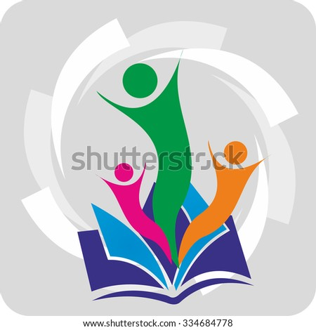 Education for all - concept for education. Stock Illustration