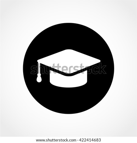 Education Icon Isolated On White Background Stock Vector 422414683 ...