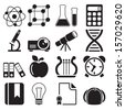 Education Icons Vol 2 - stock vector