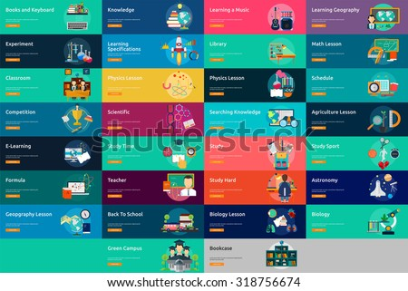 Education & Science - stock vector