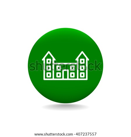 educational buildings icon