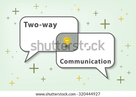 Effective communication stock images royalty free images effective communication is two ways communication vector eps10 helping us getting a good sciox Choice Image