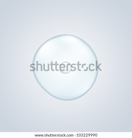 egg cell - stock vector