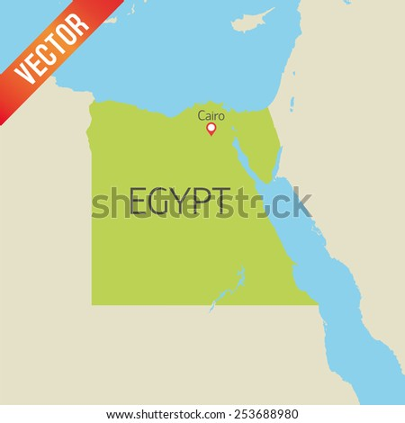 Egypt Map Stock Images RoyaltyFree Images Vectors Shutterstock - Map of egypt vector