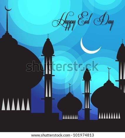 Eid greetings card easy edit vector stock photo photo vector eid greetings card easy to edit vector m4hsunfo
