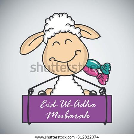 Eid-Ul-Adha Festival of Sacrifice-7 - stock vector