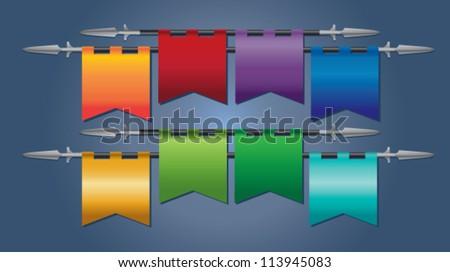 medieval flag stock images royalty free images vectors shutterstock. Black Bedroom Furniture Sets. Home Design Ideas