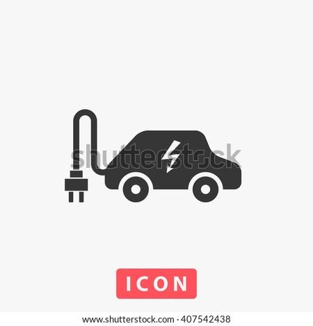 electric car Icon. electric car Icon Vector. electric car Icon Art. electric car Icon eps. electric car Icon Image. electric car Icon logo. electric car Icon Sign. electric car Icon Flat. car icon app - stock vector