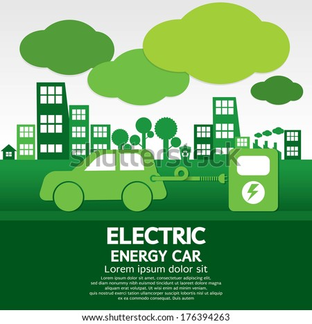 Electric Car Stock Images Royalty Free Images Vectors