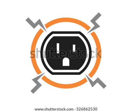 electric plugs vector  - stock vector