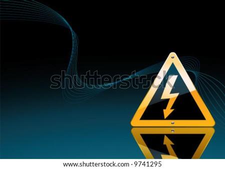 Electric Power - stock vector