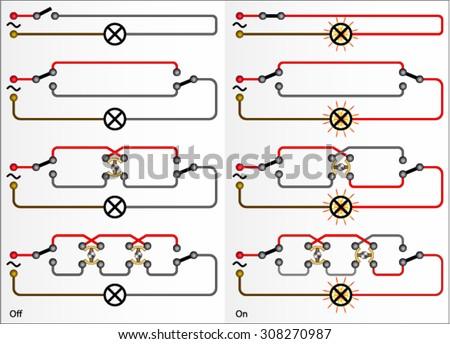 hertz stock vectors images vector art shutterstock electric wiring diagram for lamp multiple switch