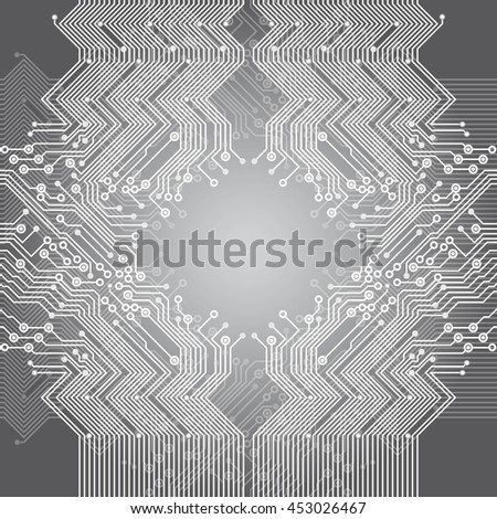 Electrical circuit background of computer board device. Abstract Technology pattern for graphic website internet business.