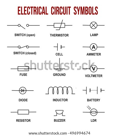 electric circuit diagram stock images royalty free images vectors
