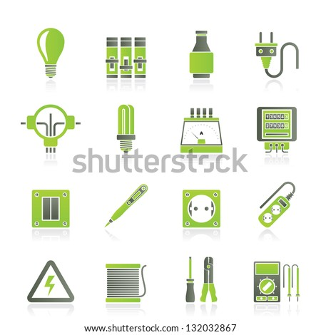 fuse box stock images royalty images vectors shutterstock electrical devices and equipment icons vector icon set