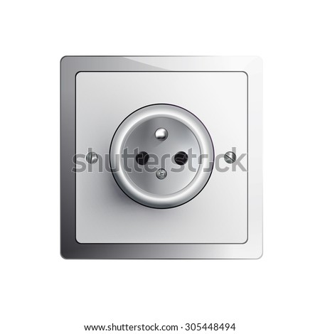 electrical outlet in the EU, power socket