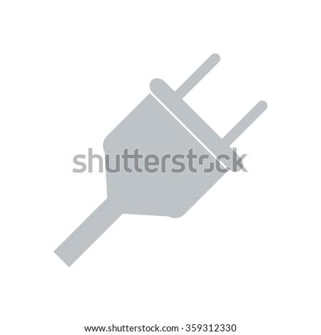 Electrical Plug Icon graphic. Electrical Plug Icon JPEG. Electrical Plug Icon EPS. Electrical Plug Icon sign. Electrical Plug Icon Simbol. Plug Icon drawing.  Plug Icon image. Plug Icon image. - stock vector