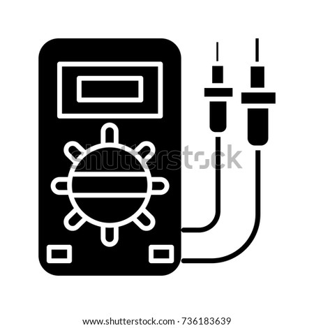 Electrical Service Car Icon Vector Illustration Stock