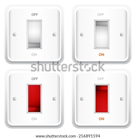 Electrical Switch Plate - Illustration