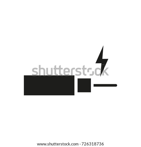Electrical Wire Vector Icon Stock Vector 726318736 - Shutterstock