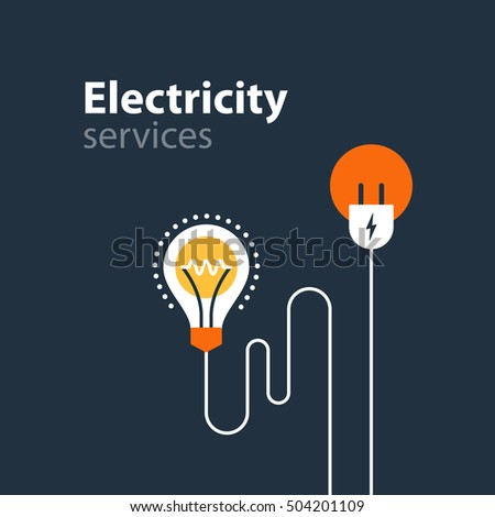 Electricity Safety Vector