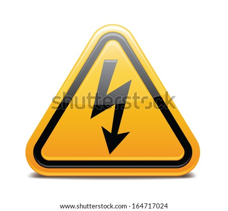 Electricity Warning Sign