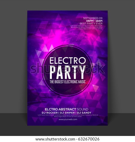 flyer party