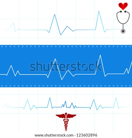 Electrocardiogram Graphic