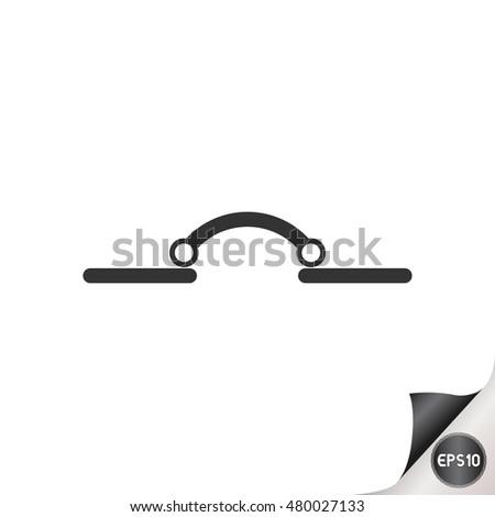 Electronic Circuit Symbols Circuit Breaker Stock Vector (2018 ...