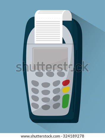 Electronic payment and technology design, vector illustration eps10