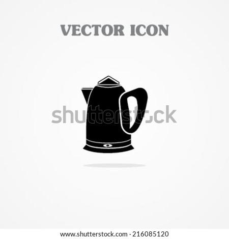 Electronic Tea Pot - stock vector