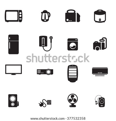 Electronics Icons Vector files.