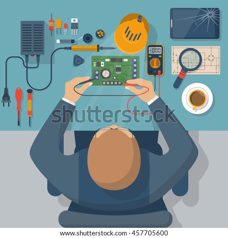 lab on a chip template - lab on a chip stock images royalty free images vectors