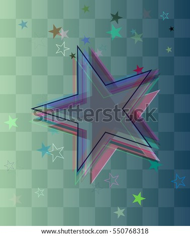 elegance beside class adornment, clever star vector background into keynote