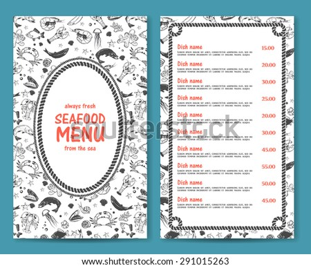 black and white simple elegant menu templates by canva