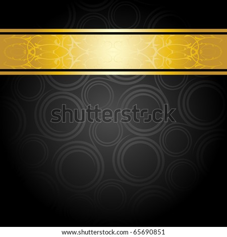 elegant black and gold background