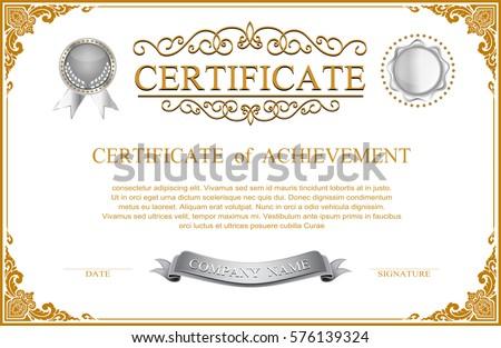 Certificate Design Vector Free Download