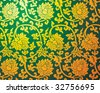 Elegant chinese style ornament background - stock vector