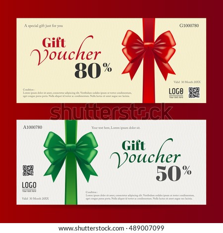 Christmas Voucher Template Attractive Christmas Coupons With