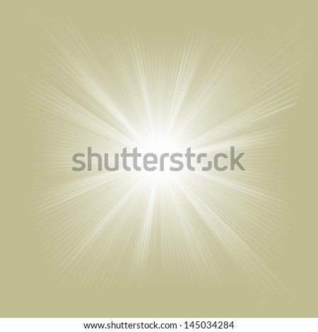 Elegant design with a burst. EPS 10 vector file included - stock vector