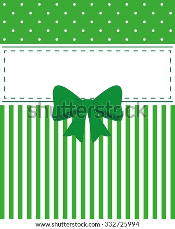 Elegant green card vector, advertising or wedding invitations. Beautiful background, white space can write your text