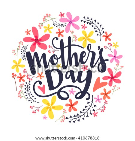Mada stock vectors images vector art shutterstock for Classy mothers day cards