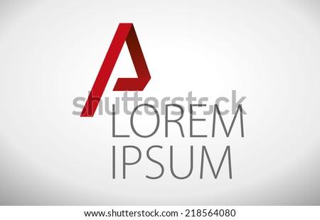 Elegant minimal style corporate identity template. Vector illustration. - stock vector
