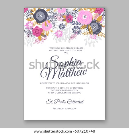Engagement Invitation Images RoyaltyFree Images Vectors – Engagement Card Invitation