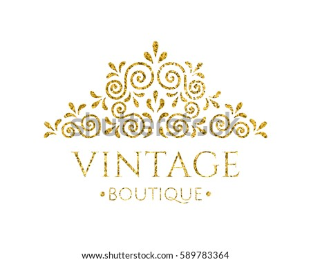 Vintage logo stock images royalty free images vectors for Decor logo