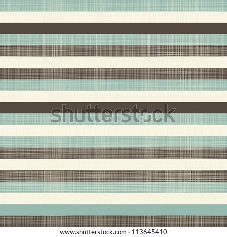 elegant retro horizontal lines seamless background - stock vector